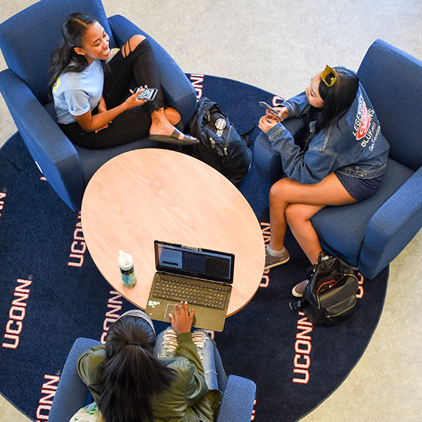 Students in the Student Union