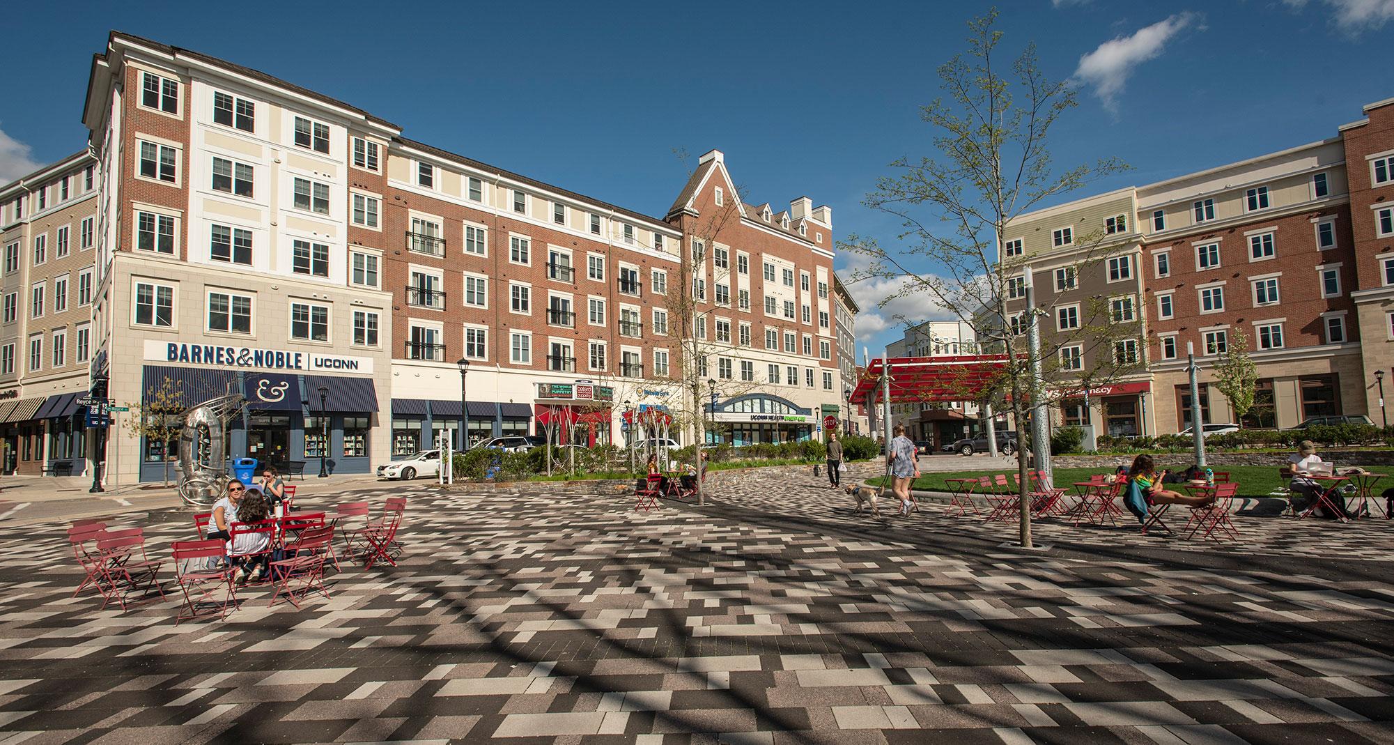Downtown Storrs, Connecticut