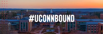 #UConnBound: Aerial view of Storrs campus